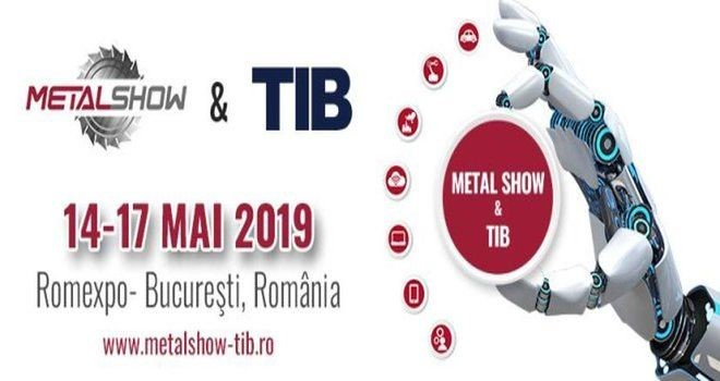 SALON METALSHOW 2019 À BUCAREST ROUMANIE